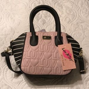 NWT Luv Betsey by Betsey Johnson satchel